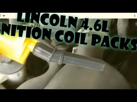 How to replace an ignition coil pack in a Lincoln, Ford, Mercury.