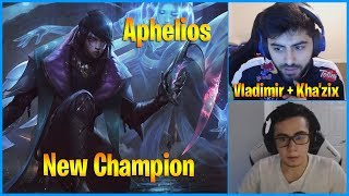 Yassuo Reacts to New Champion Aphelios | Twitch Rivals Scrims | LoL Daily Moments Ep 725