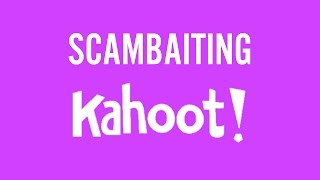 Playing a Scambaiting Kahoot Quiz with Fans!