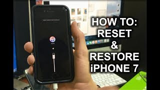 How To Reset & Restore your Apple iPhone 7 - Factory Reset