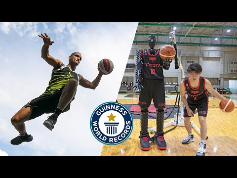 Play this video Best BASKETBALL Trick Shots Ever! - Guinness World Records