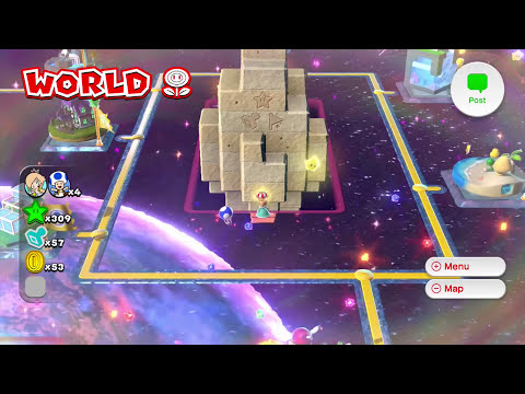 Super Mario 3D World BOSS BLITZ - Gameplay Walkthrough Part 29 - Flower World 11-12