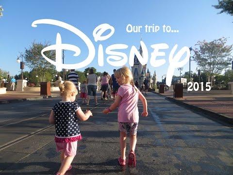 Family Holiday to Disney World (Florida 2015)
