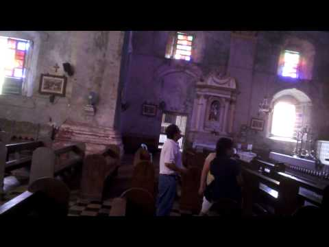 Baclayon Church Bohol 5 3 2010 video