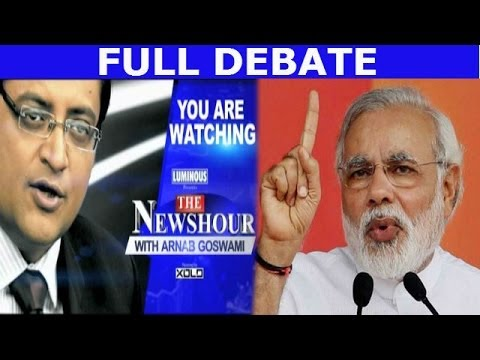 The Newshour Versus: Narendra Modi barb, Nitish Kumar counter - Full Debate (12th March 2014)
