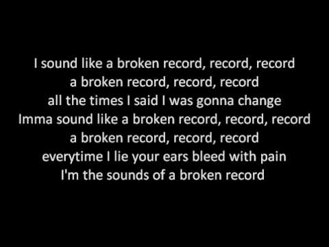 Jason Derulo - Broken Record  W lyrics video