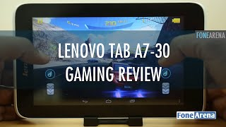 Lenovo Tab A7-30 Gaming Review