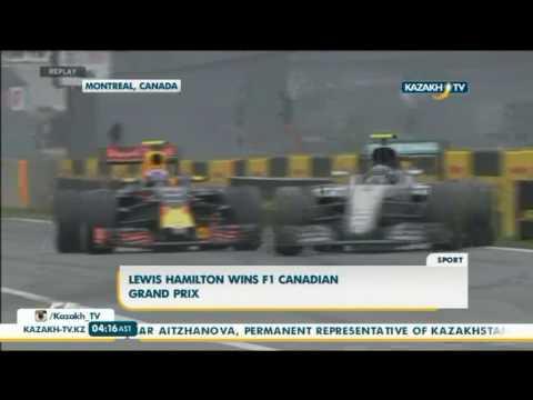 Lewis Hamilton wins F1 canadian Grand Prix - Kazakh TV