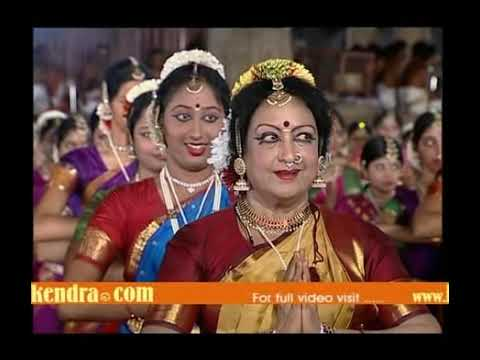 Bharatanatyam Performance By 1000 Dancers - Rajarajeswaram 1000 video