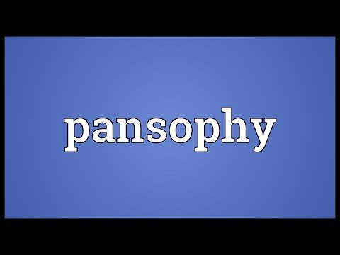 Header of pansophy