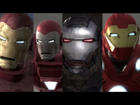 Iron Man 2 - All Suits/Armors Overview