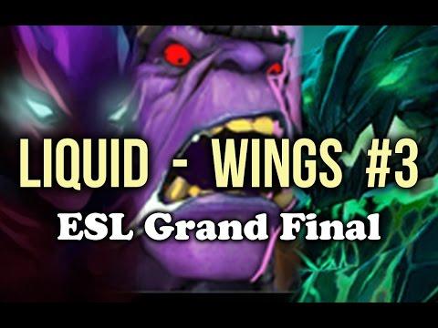 Liquid vs Wings ESL One Manila Grand Final Game 3 Dota 2
