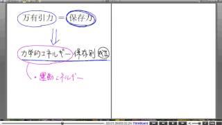 高校物理解説講義:「万有引力のもとでの運動」講義14