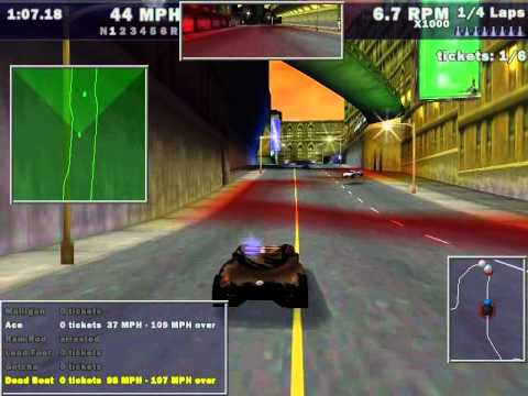 Need For Speed III: Hot Pursuit - Pursuit El Nino at Empire...