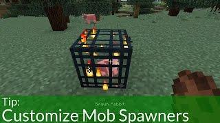 Tip: Easy Mob Spawner Customization in Minecraft