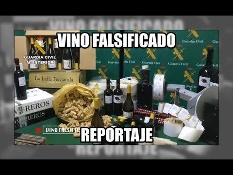 Vino falsificado - Aduanas SVA