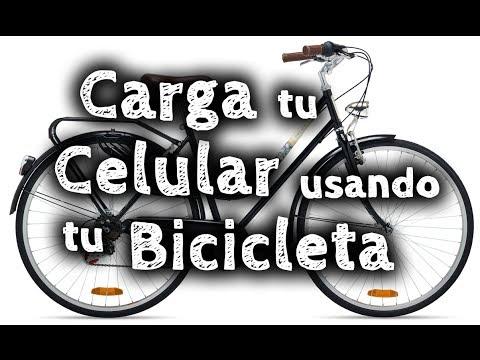 Cómo cargar tu teléfono con tu bicicleta