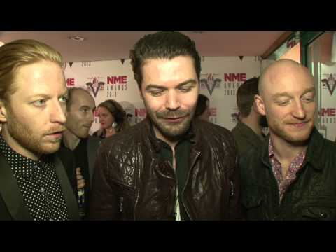 Johnny Marr, Foals, Biffy Clyro On The Red Carpet At The NME Awards 2013