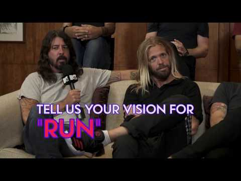 Interview: Foo Fighters talk about their music video 'Run' and 'The Sky Is A Neighbourhood'