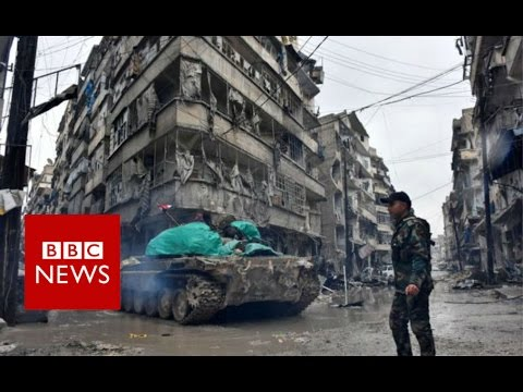Aleppo: Hopes of safe passage for civilians are shattered - BBC News