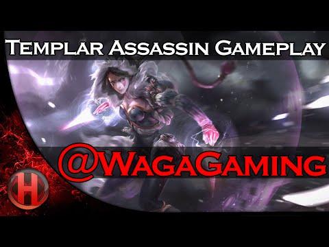 WagaGaming 6819 MMR Templar Assassin Gameplay Dota 2