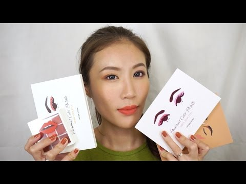 Celeste Wu 大沛   Etude House Personal Color Palette 分享 & 示範