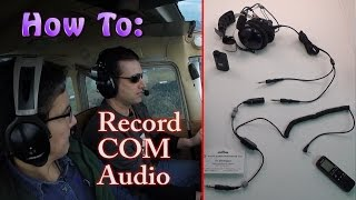 How To: Capture Headset COM Audio in a Cessna 172