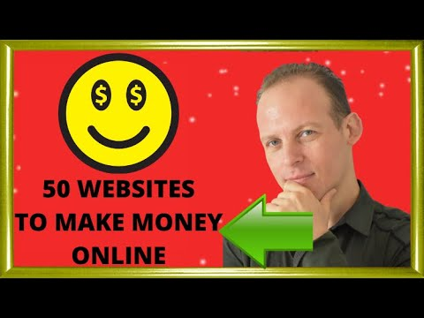 How to make money online: 50 business ideas and websites to make money online from home