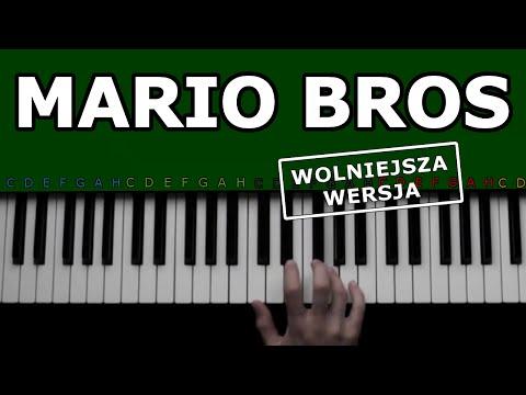 MARIO BROS - Jak Grać Na Keyboardzie - Wolniejsza Wersja