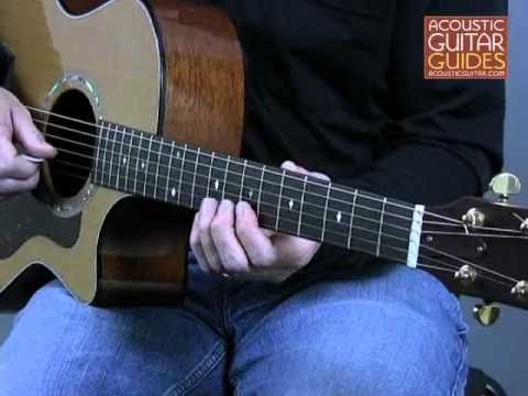 Acoustic Guitar Lesson - Playing Lead Using Major Scales Lesson With Andrew DuBrock