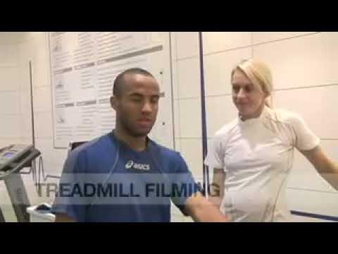 Jenny Meadows - Running Foot Scan - Asics