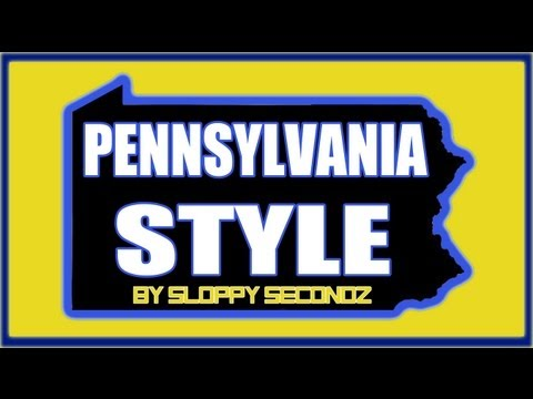 Pennsylvania Style by SSM (Sloppy Secondz Music) - Gangnam Style parody - PA Song