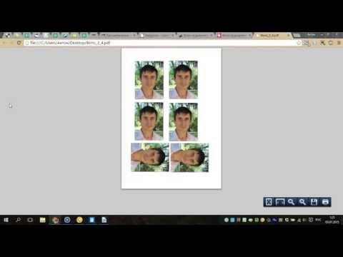 как напечатать фотографию 4 на 6