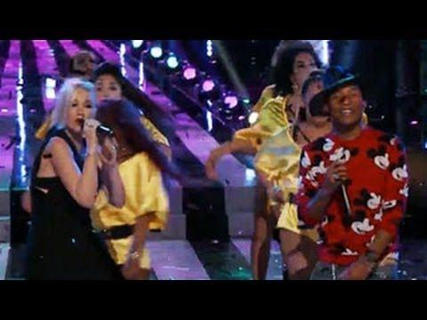 The Voice Season 6 (USA) : Gwen Stefani And Pharrell Williams' Rocking 'Hollaback Girl' Performance