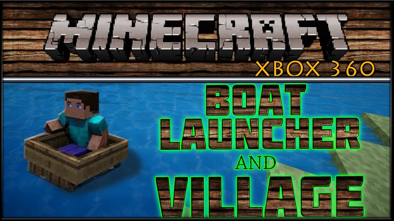 how to build a boat in minecraft xbox 360
