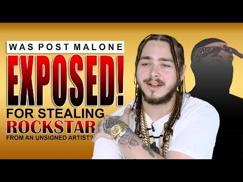 Cover Lagu Was Post Malone EXPOSED! for STEALING
