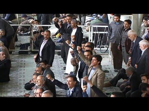 احتجاجات في إيران ضد الضربات السعودية على الحوثيين في اليمن