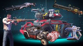 Gangstar Vegas Update 17 (Scorcher, Jaws of Death, Stunner, Twin Tornadoes, 5 Barreled Buster)