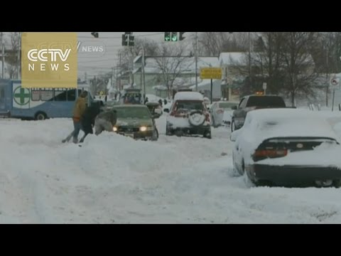 Massive snowstorm hits Buffalo, New York