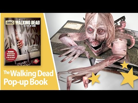 The Walking Dead Pop-Up Book - Review and Close-up