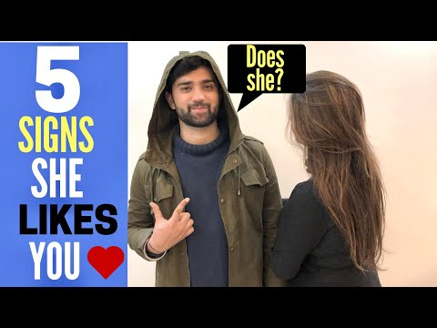 5 SIGNS That A Girl LIKES YOU Secretly | HOW To Know If a girl Likes You