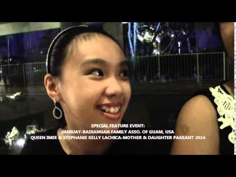 janiuay-badiangan family asso. of guam post interview w/ the queens...