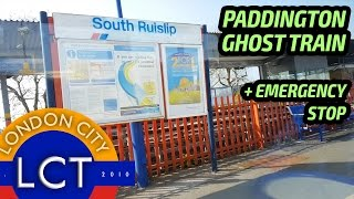 PADDINGTON GHOST TRAIN 2017: 100 Sub Special with EMERGENCY STOP