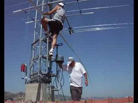 Ham Radio IZ6CLZ  Antenna HOME MADE 10-15-20-40-80
