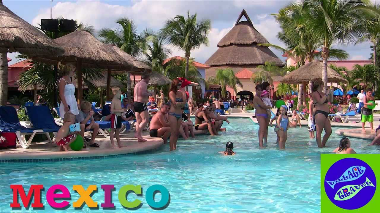 Vacation at Sandos Playacar  Mexico - YouTube
