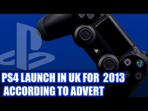 Playstation 4 Released In the Uk In 2013 - According To An Advert In British Newspaper - PS4 News