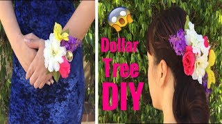 Dollar tree DIY/Corsage very easy to make!