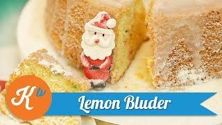 Resep Kue Lemon Bluder | MARISKA LIM