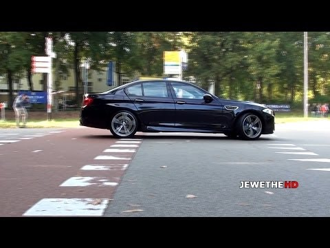 BMW M5 F10 & M3 E92 LOUD Acceleration sounds! (1080p Full HD)