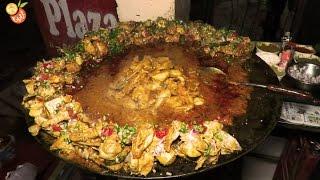 Spicy Tawa Chicken - Street Food India - Indian Street Food 2017